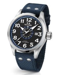 TW Steel - Metallic Volante Textile Strap Watch for Men - Lyst
