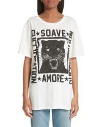 Gucci - White T-shirt - Lyst