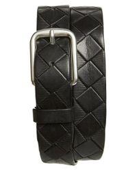 Remo Tulliani - Black 'dino' Leather Belt for Men - Lyst