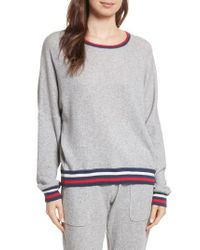 Joie - Gray Richardine B Sweatshirt - Lyst
