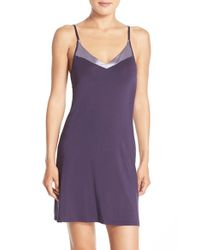 Calvin Klein | Purple 'essentials' Chemise | Lyst