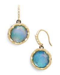 Armenta - Metallic Old World Opal Drop Earrings - Lyst