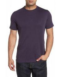 Robert Barakett - Blue 'georgia' Crewneck T-shirt for Men - Lyst