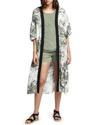 Sanctuary - Multicolor Calico Print Kimono - Lyst