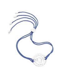 Daisy London - Blue 'throat Chakra' Cord Bracelet - Lyst
