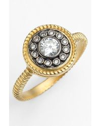 Freida Rothman - Metallic 'hamptons' Nautical Button Ring - Lyst