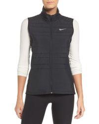 Nike - Black Essentials Running Vest - Lyst