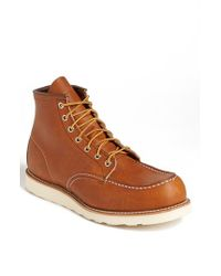 Red Wing | Brown '875' 6 Inch Moc Toe Boot for Men | Lyst
