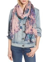 Treasure & Bond - Pink Print Crinkle Wrap - Lyst