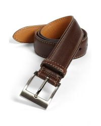 Trafalgar | Brown 'brandon' Belt for Men | Lyst
