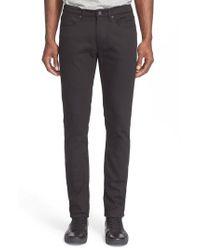 Acne - Black Slim Straight Jeans for Men - Lyst
