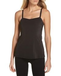 Tc Fine Intimates - Black Tummy Smoothing Two-layer Shaper Camisole - Lyst