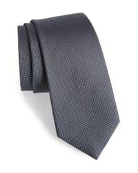 Calibrate - Gray Woven Silk Tie for Men - Lyst
