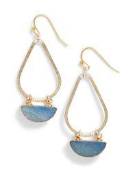 Nakamol | Blue Bahar Lapis Teardrop Earrings | Lyst