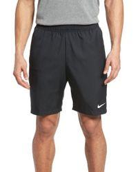 Nike - Black Tennis Shorts for Men - Lyst