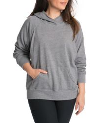 Bun Maternity - Gray Relaxed Daily Maternity Nursing Hoodie - Lyst
