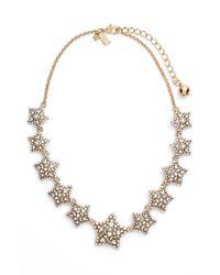 Kate Spade - Metallic 'bright Star' Collar Necklace - Lyst
