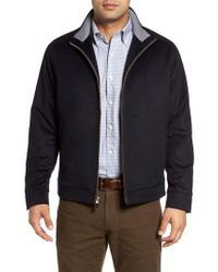 Peter Millar - Blue Westport Wool & Cashmere Jacket for Men - Lyst
