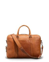 Shinola - Natural Leather Briefcase for Men - Lyst