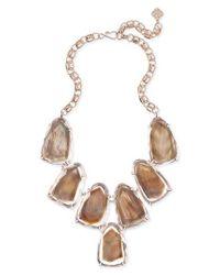 Kendra Scott - Brown Harlow Necklace - Lyst
