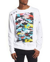 Antony Morato - White Graphic Sweatshirt for Men - Lyst