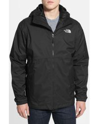 The North Face | Black 'all About' Triclimate Waterproof Hooded 3-in-1 Hyvent Jacket for Men | Lyst