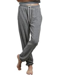 Volcom - Gray Lil Fleece Sweatpants - Lyst