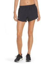 Under Armour | Blue 'fly By' Running Shorts | Lyst