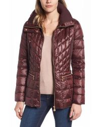 Bernardo | Packable Jacket With Down & Primaloft Fill, Red | Lyst