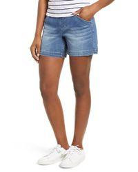Jag Jeans Blue Ainsley 5 Denim Shorts