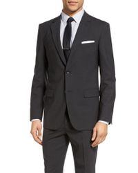 Theory - Gray Wellar New Tailor 1 Trim Fit Stretch Wool Sport Coat for Men - Lyst