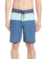 Cova - Blue Beachcomber Board Shorts for Men - Lyst