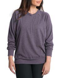 Bun Maternity - Multicolor Relaxed Daily Maternity/nursing Sweatshirt - Lyst