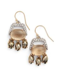 Alexis Bittar - Metallic Elements Crystal Drops - Lyst