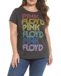 Lucky Brand - Multicolor Pink Floyd Graphic Tee - Lyst