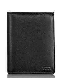 Tumi - Black Leather L-fold Wallet - for Men - Lyst