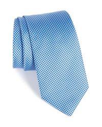 Eton of Sweden   Blue Microdot Silk Tie for Men   Lyst
