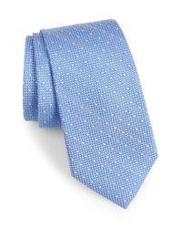Calibrate - Multicolor Bre Dot Cotton & Silk Tie for Men - Lyst