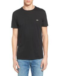 Lacoste | White Pima Cotton T-shirt for Men | Lyst