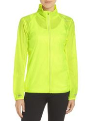 Brooks - Yellow Water Resistant Ripstop Jacket - Lyst