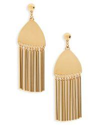 Lele Sadoughi - Metallic Comb Tassel Earrings - Lyst