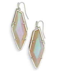 Kendra Scott - Multicolor Drop Earrings - Lyst