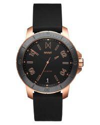 MVMT - Black Modern Sport Silicone Strap Watch for Men - Lyst