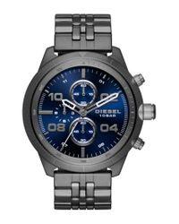 DIESEL - Multicolor Diesel Padlock Chronograph Bracelet Watch for Men - Lyst