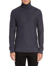 Vince Camuto - Blue Turtleneck Sweater for Men - Lyst