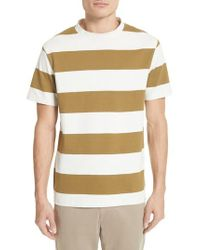 Norse Projects - Multicolor Johannes Wide Stripe T-shirt for Men - Lyst