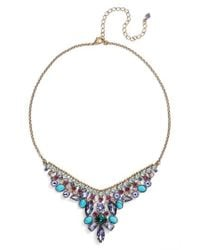 Sorrelli - Metallic Vervain Frontal Necklace - Lyst