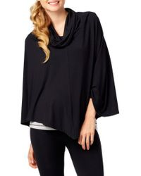 Rosie Pope - Black Nursing Cover-Up Top - Lyst