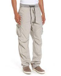 James Perse - Multicolor Contrast Waist Cargo Pants for Men - Lyst