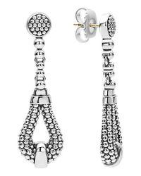 Lagos - Metallic Derby Caviar Drop Earrings - Lyst